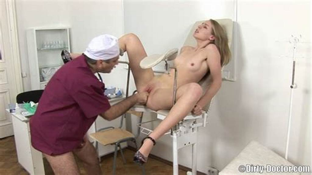 #Sex #Hungry #Older #Gynecologist #Has #A #Fun #With #His #Shaved