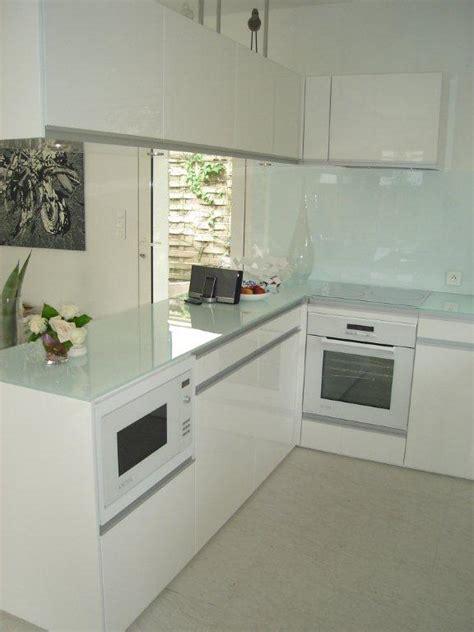plan de travail cuisine en verre topaz la cuisine