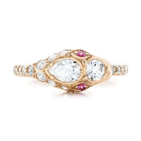 custom ouroboros snake engagement ring 102066 seattle bellevue joseph jewelry