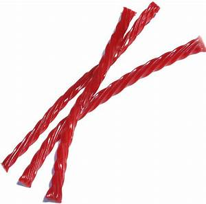 Twizzlers Red Licorice Twists - Strawberry • Licorice ...