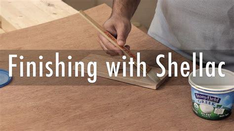 Finishing With Shellac