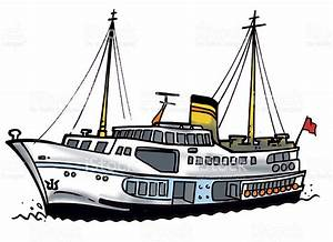 Ferry clipart passenger ship - Pencil and in color ferry ...