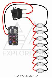 12v Accessory Wiring Diagram Led Indicator Light
