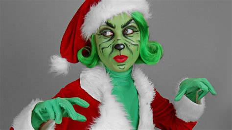 quot the grinch quot make up tutorial youtube
