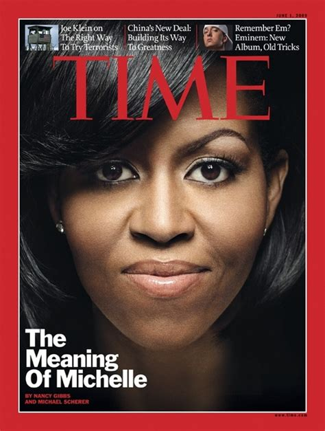 Michelle Obama On The Cover Of Time