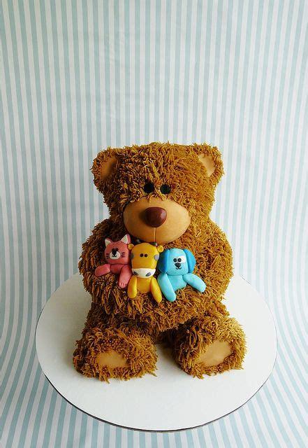 1st Birthday Cake  Flickr  Photo Sharing!  Teddy Bear