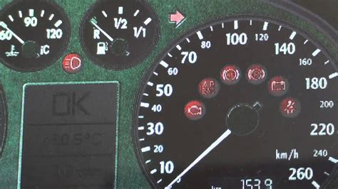 Audi A4 B6 Dashboard Warning Lights & Symbols What They