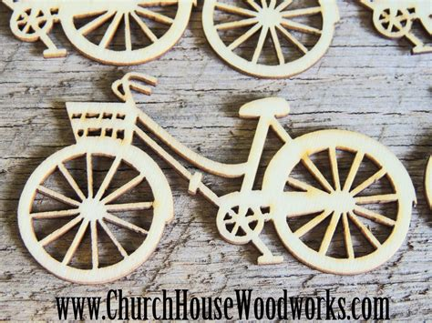 Wooden Bicycle Die Cut Pack Of 5 Diy Crafts Sewing Diy