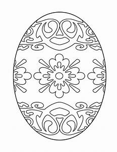 17 Best Images About Easter Eggs To Color On Pinterest