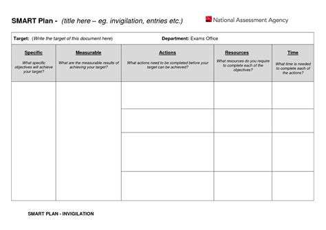 images  smart action plan template  giedaycom
