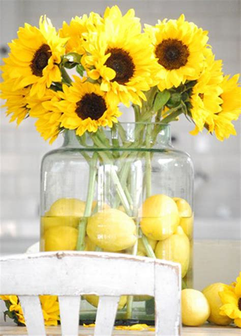 Simple Centerpieces For Dining Room Tables by Lemon Centerpieces Need Some Help Weddingbee