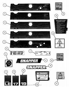Snapper Le3170r  84362  17 U0026quot  3 Hp Single Stage Snow Thrower