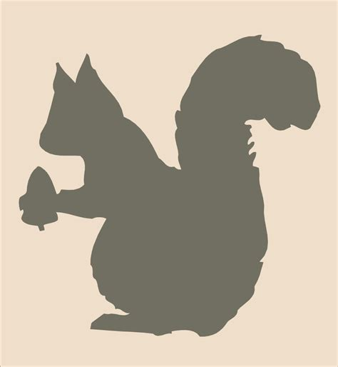 squirrel pumpkin carving patterns items similar to squirrel stencil large 10 5 wide x 10 5 tall diy pillows and signs cabin signs