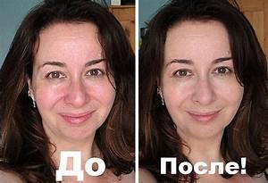Желатиновая маска для лица от морщин до и после