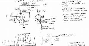 Wiring Schematic Diagram   U00bd 6922  6cl6