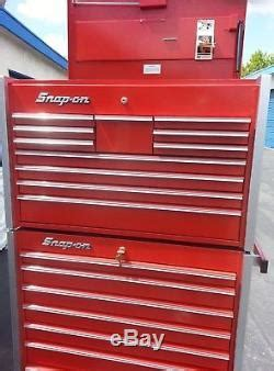 Snap on Master Series 5.5ft. Tall 19drawer Tool Box & Roll