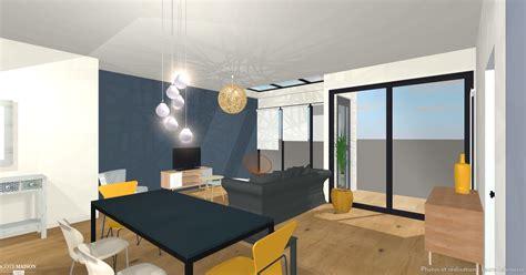 chambre style loft plans agencement et 3d pour construction maison atdeco