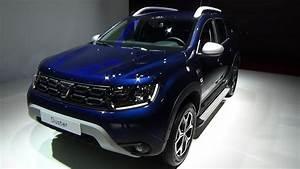 Dacia Duster Prestige 2018 : 2019 dacia duster prestige blue dci 115 4x2 exterior and interior paris auto show 2018 youtube ~ Medecine-chirurgie-esthetiques.com Avis de Voitures