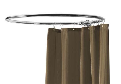 corner bath shower curtain rail curtains center