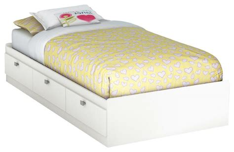 Platform Bed For Kids Teens Adults With 3 Storage Drawer