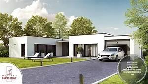 maisons babeau seguin contemporaine plain pied harmonie With jardin en pente que faire 15 quel type de maison contemporaine choisir