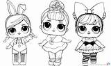 Lol Coloring Doll Dolls Pages Sheet Printable Barbie Bettercoloring Template Friend Getdrawings Colouring Unicorn Surprise Christmas Clipart Babies Cute Popular sketch template