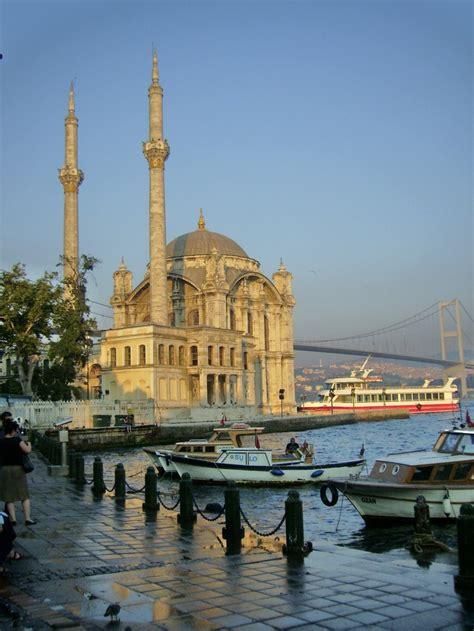 Ortakoy Mosque And Bhosphorus Bridge ~ Istanbul Turkey