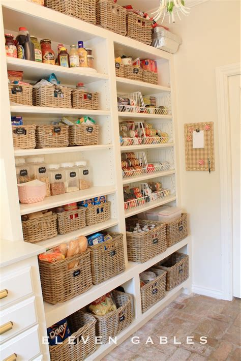 how to organize pantry eleven gables eleven gables laundry butler s pantry