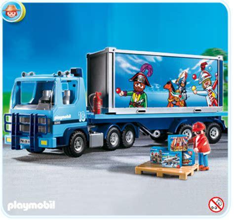 playmobil  lkw container truck auflieger trailer ebay