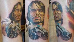 John Marston Tattoo | Rockstar Games