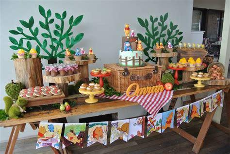 Winnie The Pooh Decoration Ideas - kara s ideas rustic winnie the pooh birthday