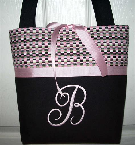 monogrammed purse monogrammed purses initial tote bags purses