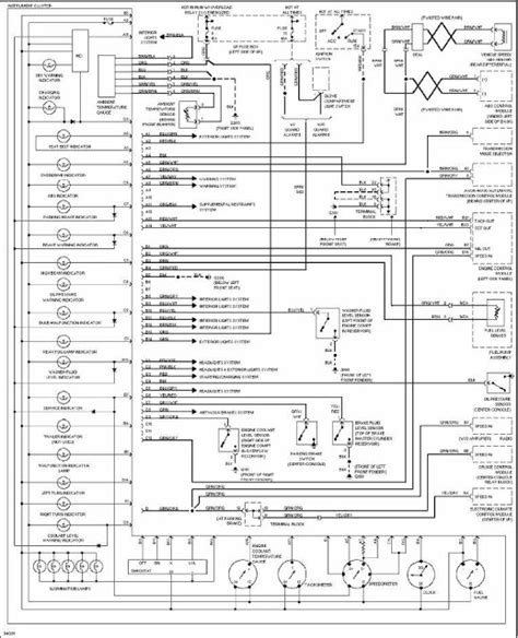 wiring diagram for volvo 240 instrument cluster volvo 960 1997 instrument cluster wiring diagram all about wiring diagrams