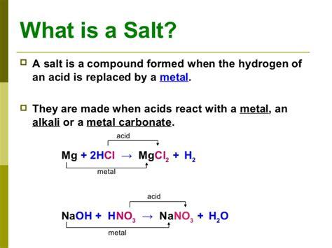 is table salt a compound is table salt a compound chemistry salts sodium based