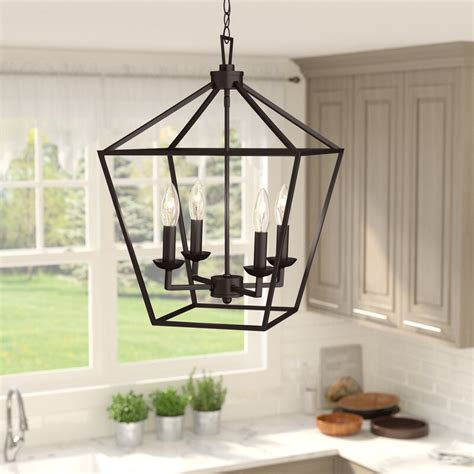 laurel foundry modern farmhouse carmen  light lantern