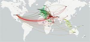Mapping The Geographic Networks Of Global Refugee Flows  U2013 The Gdelt Project
