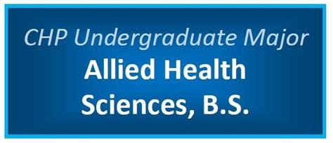 undergraduate programs college health professions grand valley