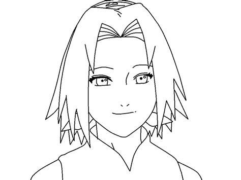 Sakura Coloring Page By Thewritinggamer On Deviantart