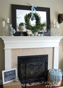 Easter, Decorating, Ideas, -, Mantel, 2011, -, A, Pop, Of, Pretty, Blog, Canadian, Home, Decorating, Blog