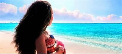 Moana Ocean Gifs Aloha Hawaii Disney Looking