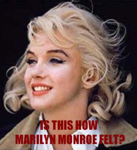 marilyn monroe felt   meme