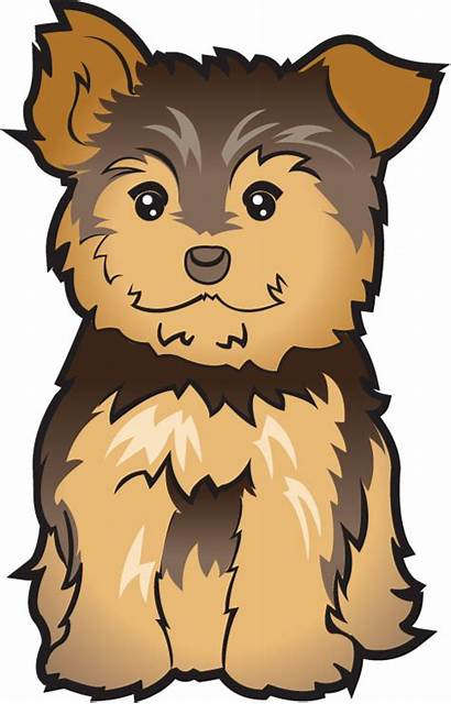Puppy Clip Clipart Yorkie Dog Cliparts Terrier