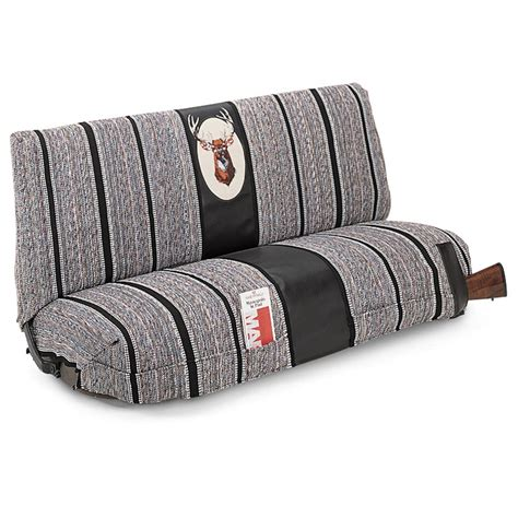seat bench saddle blanket deer covers