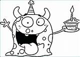 Coloring Monster Pages Monsters Sea Pan Super Energy Printable Print Funny Cookie Frying Face Gila Colouring Cute Cartoon Sheets Kindergarten sketch template