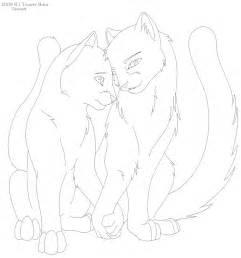warrior cat drawings warrior cat lineart