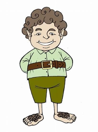 Hobbit Draw Clipart Cartoon Clip Drawing Drawings