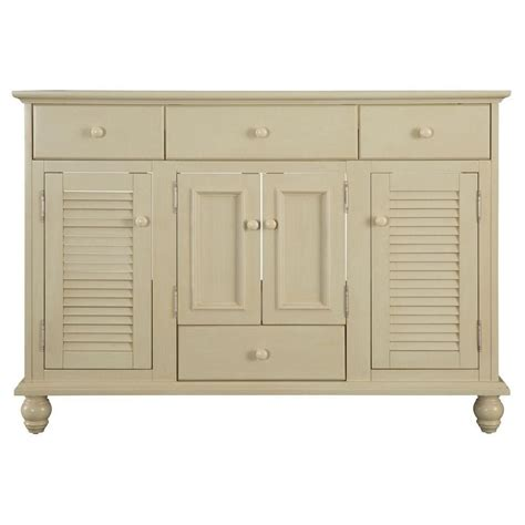 Country Bathroom Vanities Home Depot by Foremost International Cottage 48 Inch Vanity Cabinet In