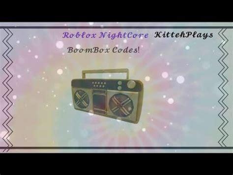 Roblox protocol and click open url: ROBLOX BOOMBOX CODES 2020 (NIGHTCORE) - YouTube
