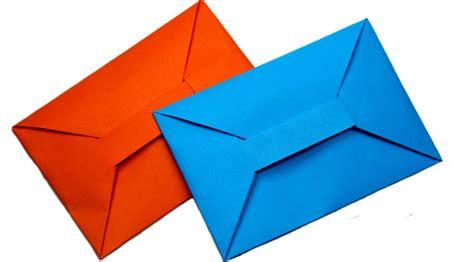 Enveloppe En Origami Origami Facile Enveloppe
