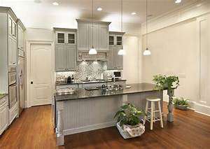 Choosing Cabinet Paint Colors - Gray or Creamy White